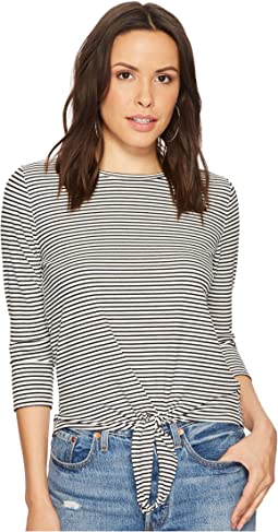 BB Dakota - Hadley Front Tie Knit Top