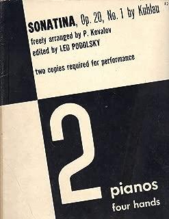 Kuhlau: Sonatina, Op. 20, No.1 for 2 pianos 4 hands
