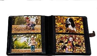 Ultra Pro 58001 Photo Album with Strap Closure, Brown