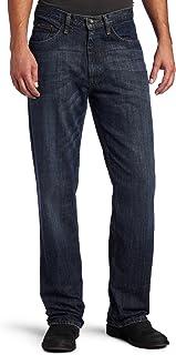 بنطلون جينز رجالي ممتاز من LEE بمقاس مريح ذو ساق مستقيمة