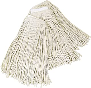Quickie Cotton Wet Mop Refill, 3-Pack