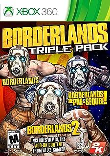 Borderlands Triple Pack - Xbox 360