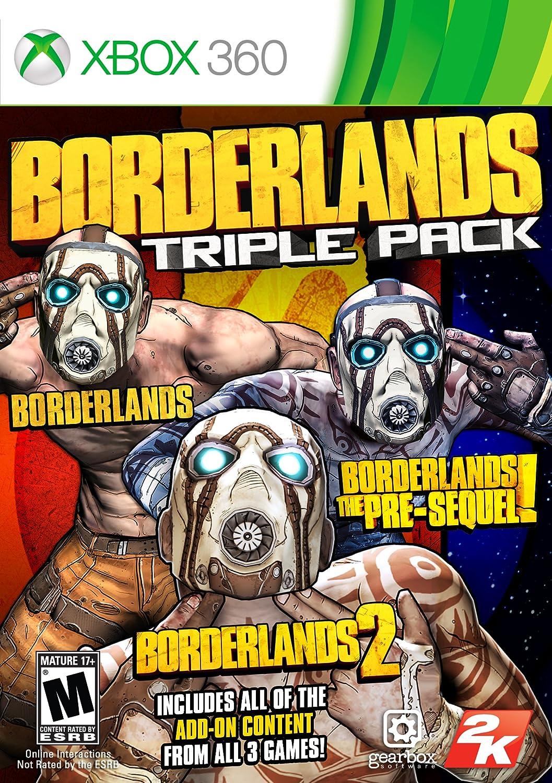 Borderlands Super popular specialty store Super sale Triple Pack - 360 Xbox