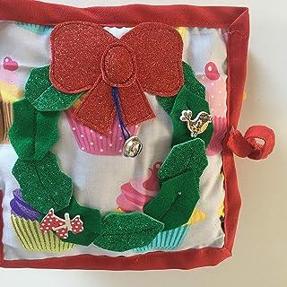 quiet book regalo Natale Christmas Montessori bambini