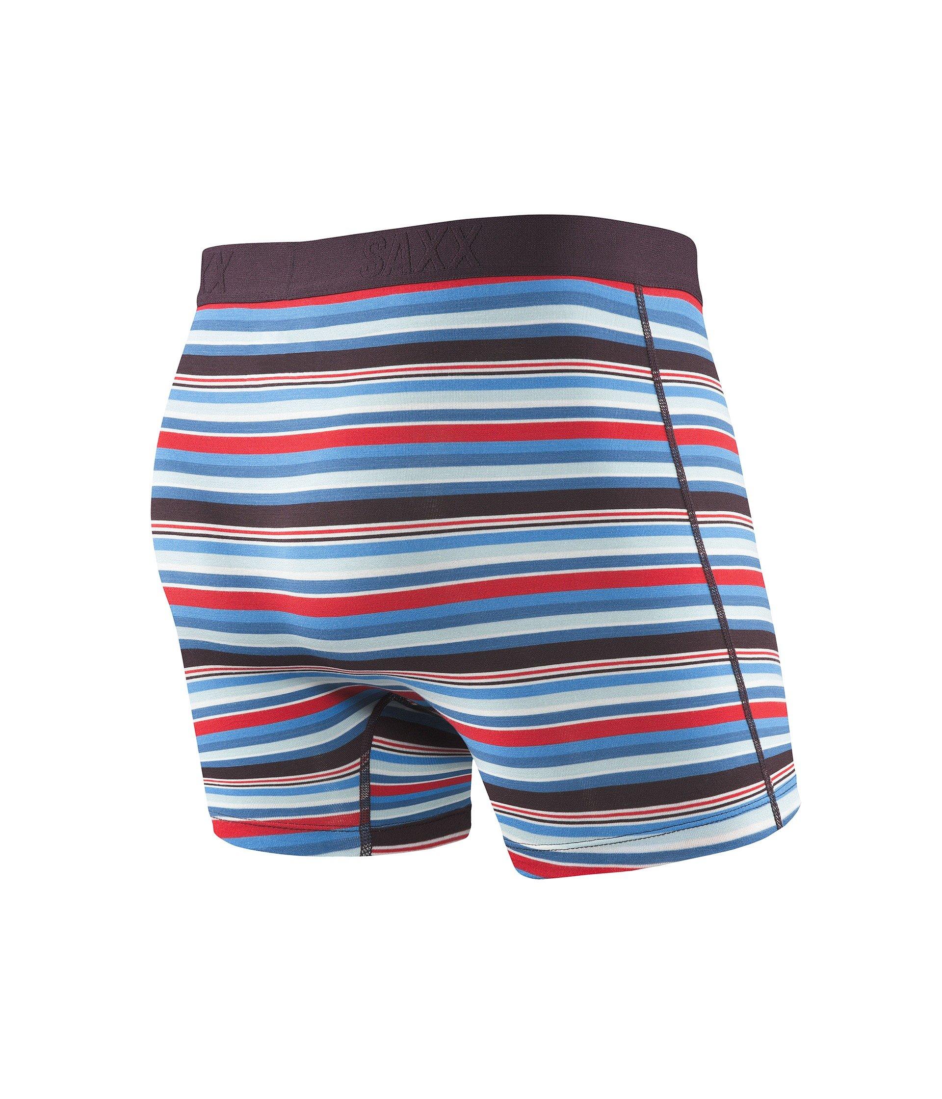 Vibe Fit Stripe Underwear Berry Saxx Camp Boxer Modern wCx45IIqg
