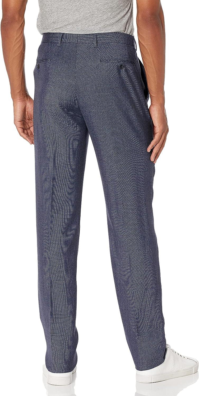 Vince Camuto Men's Slim Fit 100% Wool Birdseye Suit
