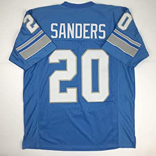 barry sanders throwback jersey