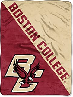 Collegiate 54X84 Sweatshirt Blanket with Tackle Twill Patch Logo