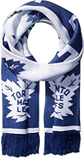 NHL SP17 Repeating Logo Jacquard Scarf