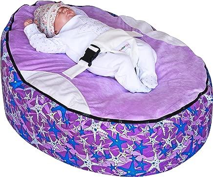 Purple Seastar Baby Bean Bag with Filling