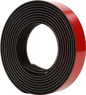 3M Dual Lock Reclosable Fastener TB3870, Black, 1 in x 10 ft, Type 250/250