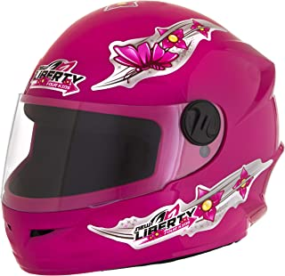Pro Tork Capacete Infantil Liberty Four Kids For Girls 54 Rosa