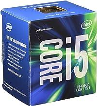 Intel BX80662I56600 - Procesador Intel Core i5-6600 (Socket FCLGA1151, Quad-Core, 3.3 GHz, 6 MB Cache), Plateado
