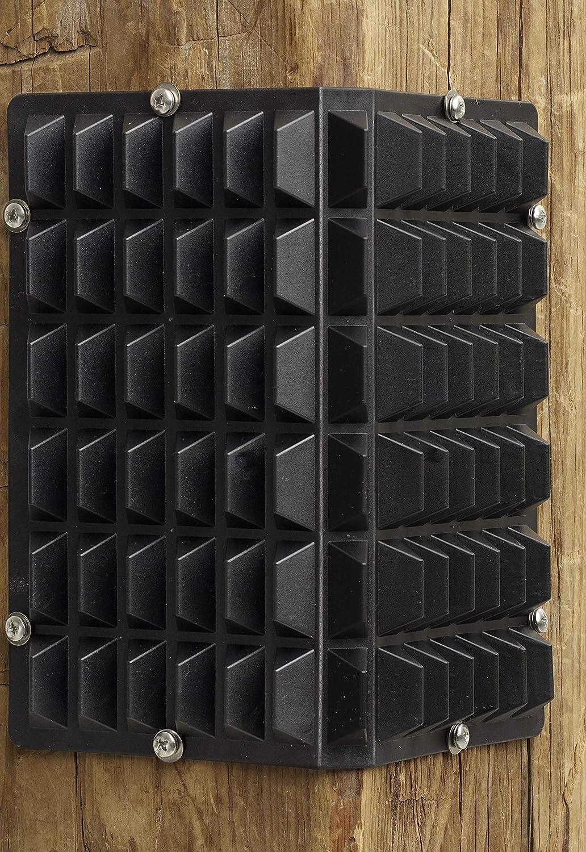 EquiEssentials Stall Corner Scratcher 3Pack Black