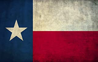 M&R Entertainment Merchanising Texas Flag Canvas PrintTexas Flag Framed Canvas Print, Ready to Hang. Made in The USA - Various Sizes and Prices (38x24)