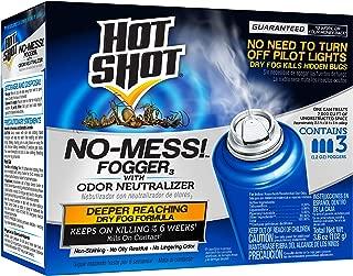 Hot Shot HG-20177 No Mess! Fogger, Aerosol, 3/1.2-Ounce