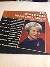 15 Exitos De Maria Luisa Landin vinyl record