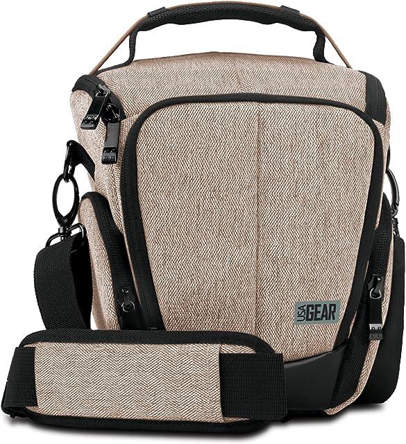 Accessory Power -GRULUTL100BREW - Funda pistolera de Color Negro y marrón para cámara fotográfica.