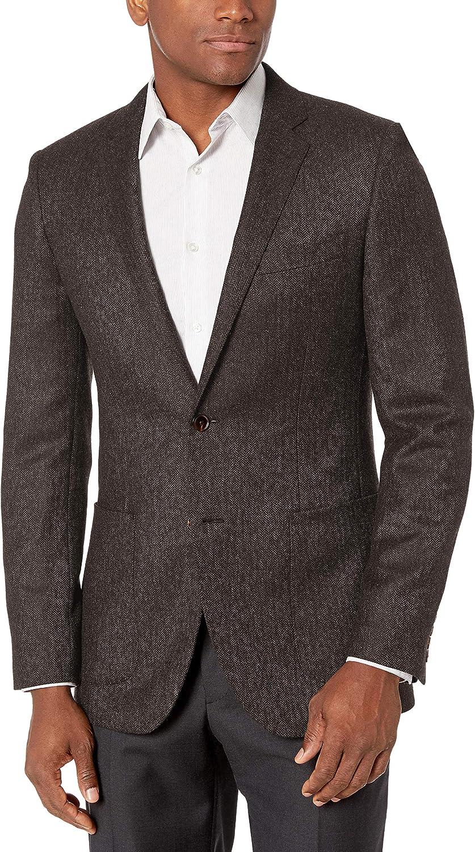 Amazon Brand - Buttoned Down Men's Slim-Fit Italian Wool Herringbone Sport Coat
