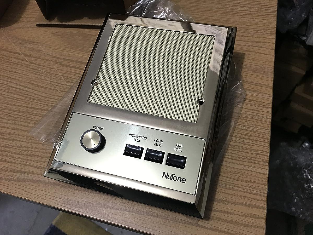 Nutone IS319PB Polished Brass Intercom Patio Speaker for IM3303, IMA3303, IM3003 Systems