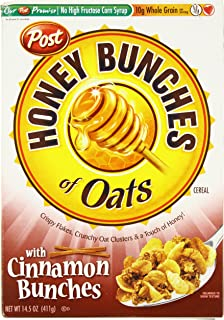 Post Honey Bunches of Oats Cinnamon Clusters, 14.5 oz
