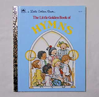 【THE LITTLE GOLDEN BOOK OF HYMNS (讃美歌)】 リトル・ゴールデン・ブック 洋書絵本 <1985年>