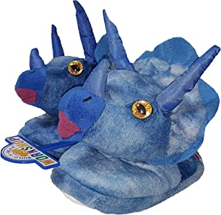 Build A Bear Boys Slippers - Triceratops, Smiley Monkey, Toothy Shark & Brachiosaurus