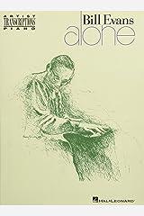 Bill Evans - Alone Paperback