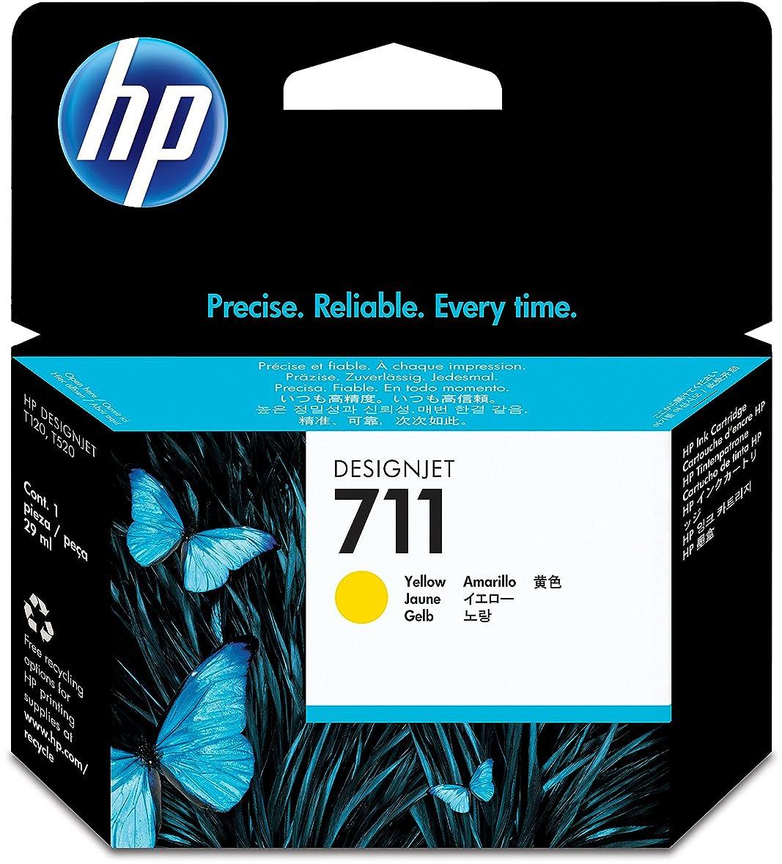珍しいブレンド分類する日本HP HP711インクカートリッジイエロー29ml CZ132A