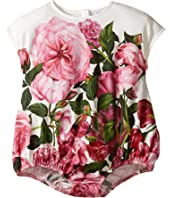 Dolce & Gabbana Kids - Rose Jersey One-Piece (Infant)