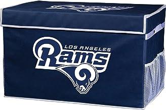 Franklin Sports NFL Los Angeles Rams Folding Storage Footlocker Bins - Official NFL Team Storage Organizers - Collapsible ...