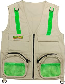 Eagle Eye Kids Reflective Strip 100% Safety Vest - Brown - Small/Medium