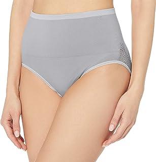 Yummie Women's Ultralight Seamless Lace Insert Shapewear Brief