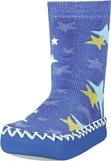 Playshoes, Zapatillas con Suela Antideslizante Estrellas, Pantuflas Unisex niños