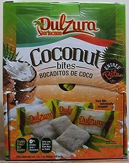 Dulzura Borincana Coconut Bites - 50 Packs