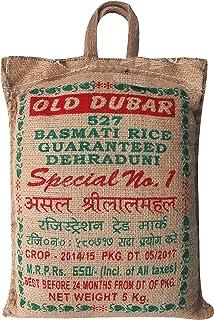 SHRILALMAHAL Basmati Rice, Old Jute Dubar, 5 Kg