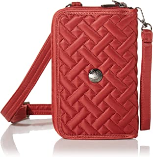 Lug Women's Convertible Wallet Crossbody-Quickstep, Contemporary Rosewood Red