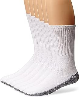 Men's 6 Pack Stain Resister Crew Socks