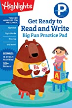 Preschool Get Ready to Read and Write Big Fun Practice Pad (Highlights Big Fun Practice Pads)