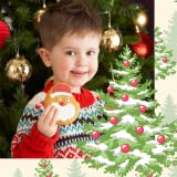 Xmas Tree Photo Collage