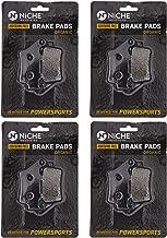 NICHE Brake Pad Set For Husqvarna WR 125 250 BMW F800S F650 F800GS F650GS F700GS KTM Triumph Front Rear Organic 4 Pack