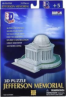 Daron Jefferson Memorial 3D Puzzle 35-Piece
