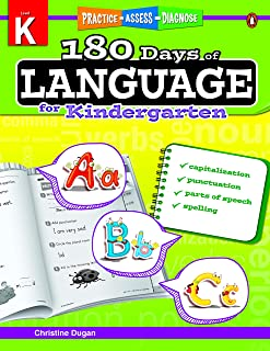 180 Days Of Language Grade Kindergarten