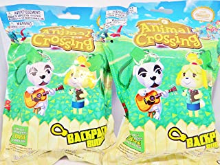Backpack Buddies Animal Crossing Blind Bag, Set of 2