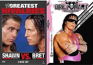 Wrestling Slam Shawn Michaels VS. Bret Hart 6 DVD Pack Greatest Rivalries + WWE The Hit Man Best of