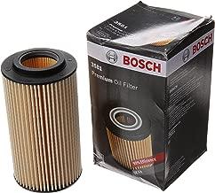 Bosch Automotive 3581 Premium Oil Filter 3581 A3, A4, Audi RS3, TT Quattro, Volkswagen: Beetle, Eos, Golf R, GTI, Jetta, Passat, Rabbit