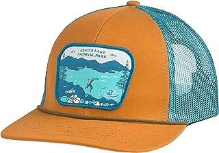 Sendero Provisions Co. Crater Lake SPC150-2 National Park Hat, Cedar/Teal Meshback, Adjustable