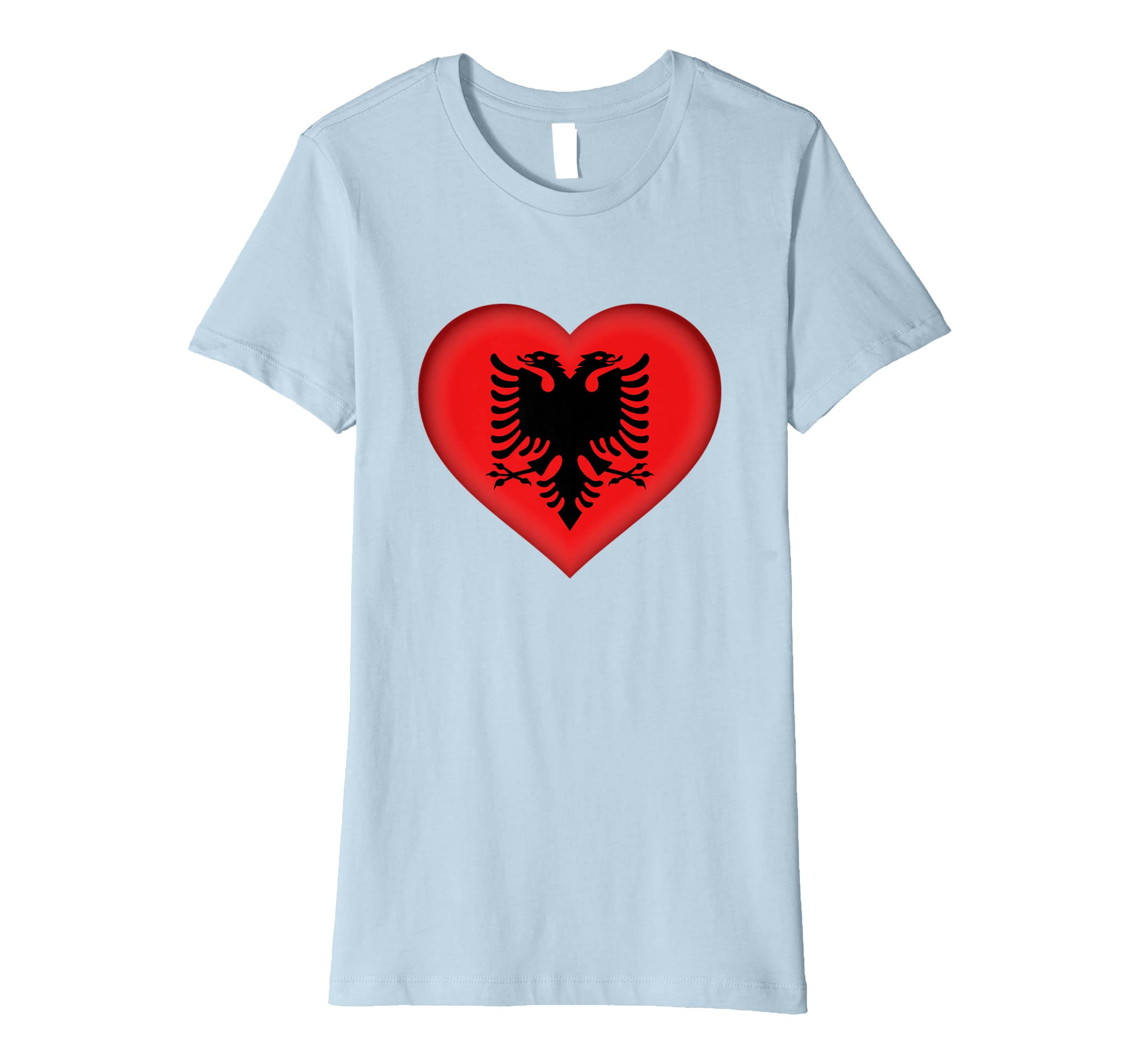 210c1acf0 Amazon.com  I Love Albania T-Shirt