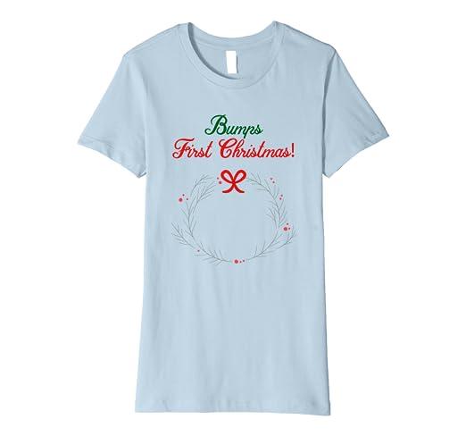 Christmas Shirt Sayings.Amazon Com Womens Bumps First Christmas Shirt Mom To Be