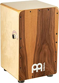 Meinl Cajon Box Drum with Snare Switch Knob - NOT MADE IN CHINA - Walnut Frontplate / Baltic Birch Body, Snarecraft Professional, 2-YEAR WARRANTY (SCP100WN)